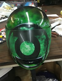 Green Lantern Custom helmet mens Large