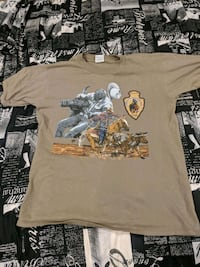 Vintage Western/Cowboy style t-shirts