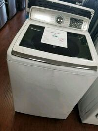 white Samsung top-load washing machine Lynwood, 90262