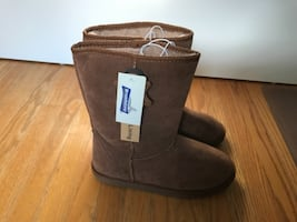 Broad stone Brown Winter Boot