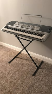 Casio key lighting system LK-100 with stand