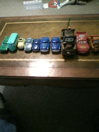 Toys from the movie cars Willard