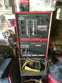 black and red Century welding machine Detroit