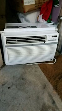 white LG window type air conditioner Portland, 97219