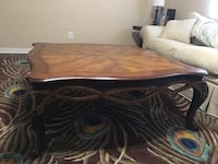 Hand crafter Honey oak and maple coffee table Augusta, 30907