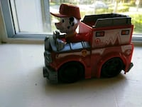 red and black ride on toy car Chico, 95928