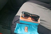 black framed sunglasses with box Tysons
