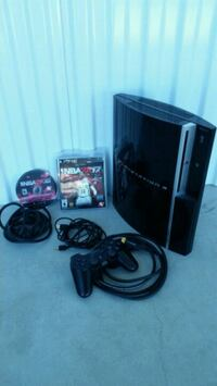 Sony Play Station 3 with 2 Games