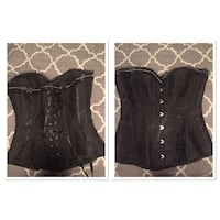 XS. - S black corset never worn  Gulfport, 39501