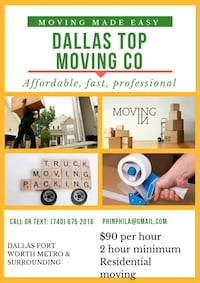 Long distance moving Irving, 75038
