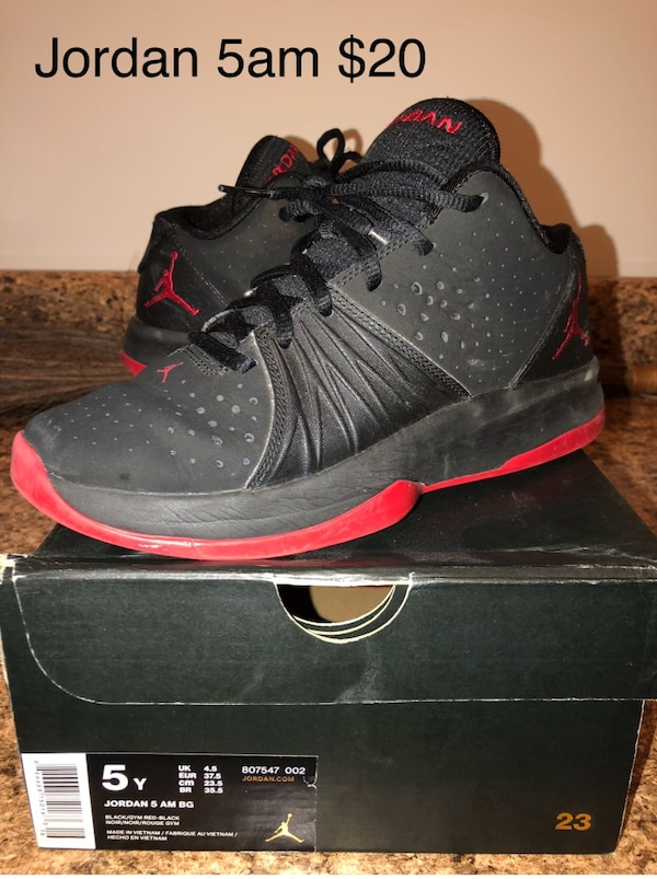 13161bcbf140 Used Jordan 5am basketball shoes for sale in Columbia - letgo