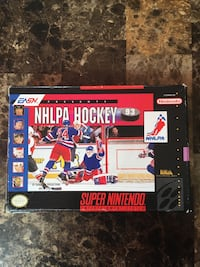 Super Nintendo SNES NHLPA Hockey '93 Complete Boxed