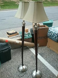 Two 60 Inch Tall floor lamps Glen Burnie