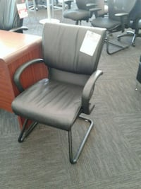 Leather Office Side Chair Norfolk, 23502