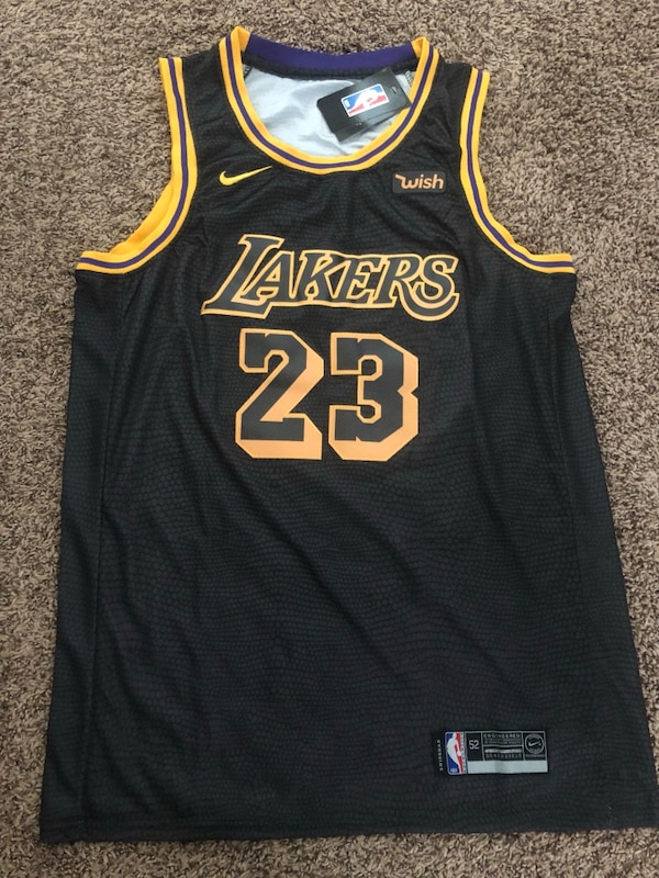 Used black and yellow Lakers 24 jersey for sale in Fort Worth - letgo c520ebb19