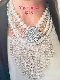 Necklace set is new for $12
