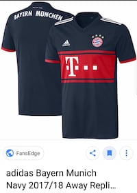 Blue and red adidas bayern munich jersey  Large El Centro, 92243