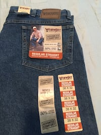 Wrangler and Lee Jeans for men + 3 Brand new T-Shirts Wesley Chapel, 33545
