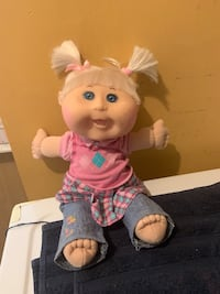 """Cabbage Patch kids doll 13 1/2"""" tall 2012"""