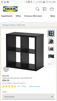 black wooden cubby shelf screenshot Falls Church, 22046