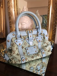 Baby blue canvas bag Vancouver, V6H 1R2