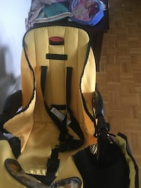 baby's black and yellow vehicle seat carrier Toronto, M6L 1C1