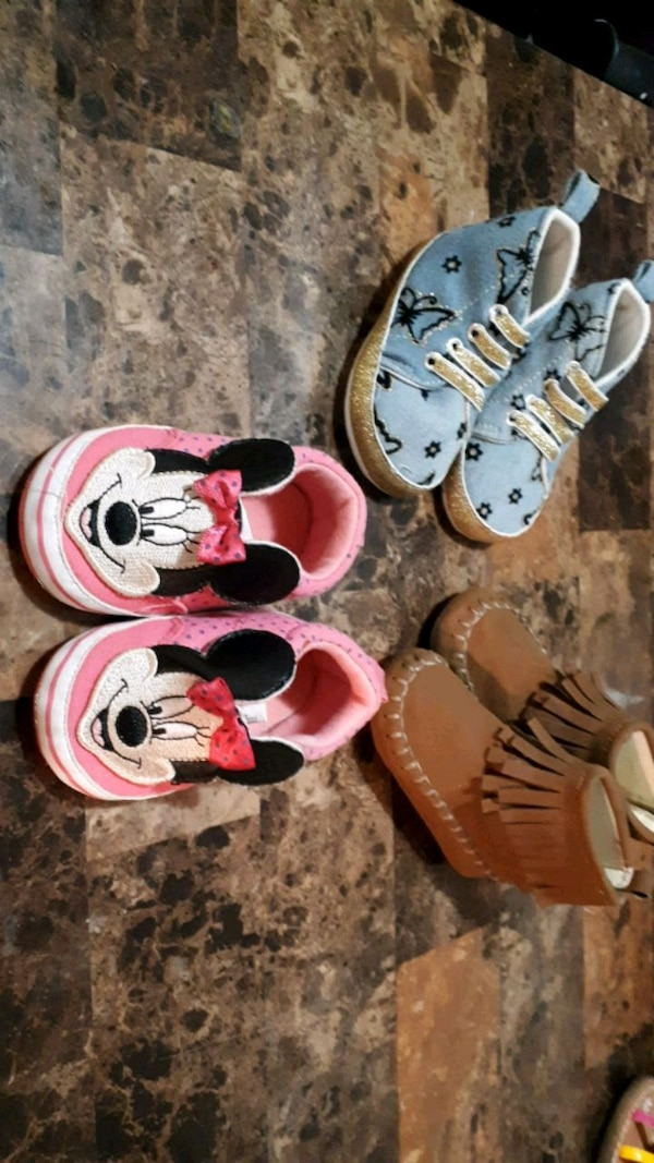 *NEW* Baby Girls 6m Shoes 3619d4cc-456e-4606-aff8-063191d47bb6