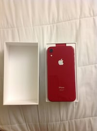 iPhone XR PRODUCT RED 128 GB PRISTINE CONDITION need gone UNLOCKED