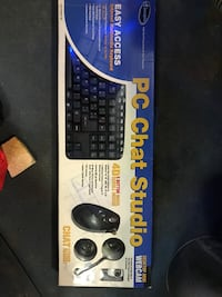 black PC Chat Studio keyboard and mouse box Tyler, 75701