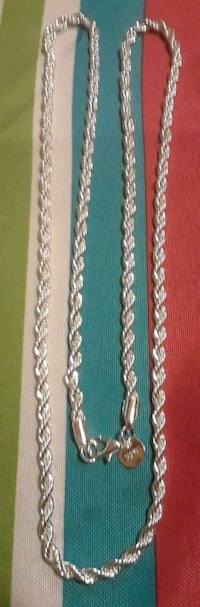 Brand new 925 rope silver chain Baltimore, 21206
