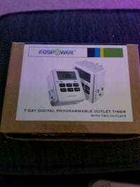 Brand New 7 Day Digital Programmable Outlet Timer