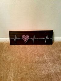 Wall decor EKG heart Alexandria