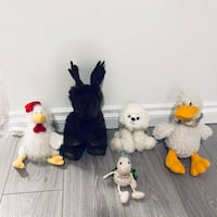 LOT of stuffed toys all for $5