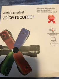 New Voice recorder, never used Mississauga, L4W 5K7