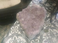 Amythist crystals about 10 by 10 light color big c Tacoma, 98422