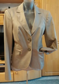 Damen Jacke Edel Eleganter Business Blazer Gr.40 in Gold/Beige von Comma NW  Elsfleth