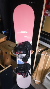 Sims Snowboard with Bindings!