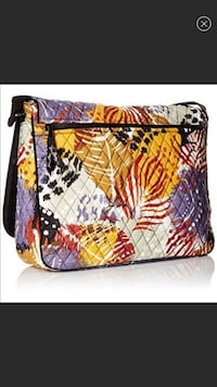Laptop Messenger bag with matching wallet by Vera Bradley Miami Shores, 33138