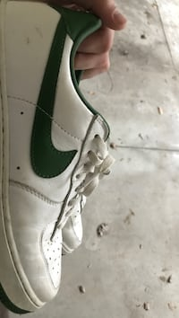 Green and white AF1 size 11 Waterloo, N2K 4M6