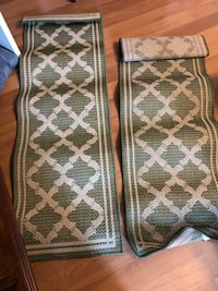 Sonoma indoor/outdoor rugs $10 for both US, 22554