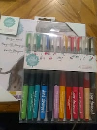Jane davenport colored pencils and mermaid markers Lethbridge, T1H