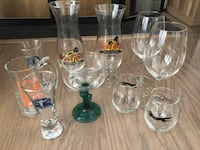 Variety of glasses 37 km