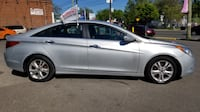 2011 HYUNDAI SONATA LIMITED LOADED SILVER ON BLACK Toronto