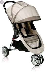 baby's black and gray stroller Montreal, H4G 2E2