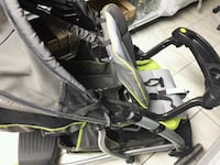baby's black and green stroller Toronto, M6M 4R9