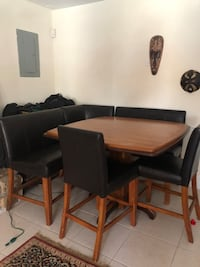 Pub style table, benches and chairs Fort Pierce, 34982