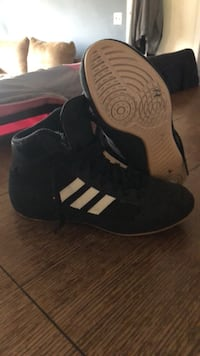 Adidas wrestling shoes . Wore one season size 5 youth  Sidney, 45365