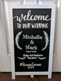 Wedding/Shower Decor Welcome Sign Toronto, M6S 4Y9