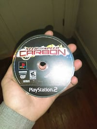 PS2 Need for Speed Carbon disc Shelbyville, 37160