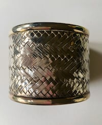 Sterling Silver Cuff Bracelet New York, 10282